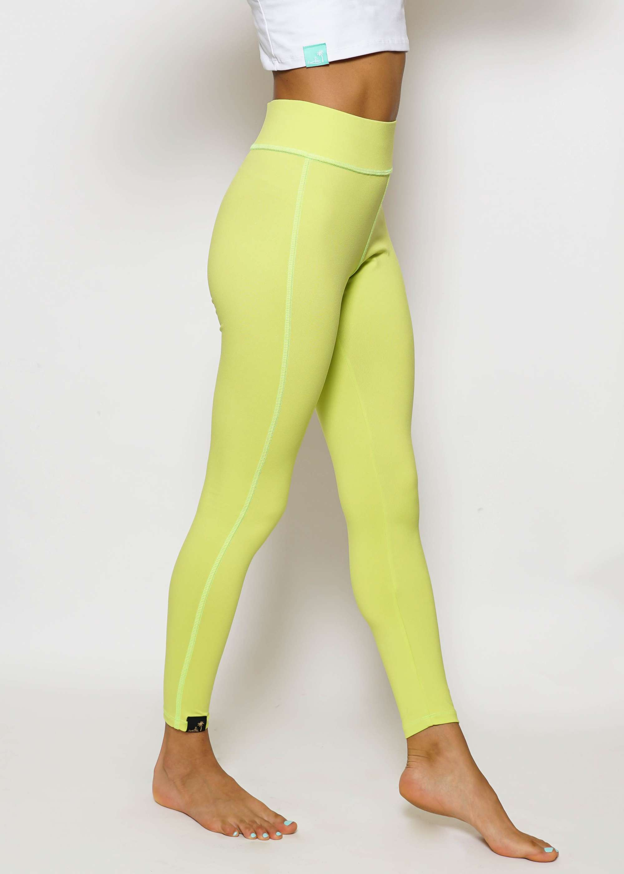 Color Leggins Lime