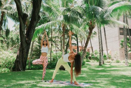 Royal Hawaiian Hotel garden